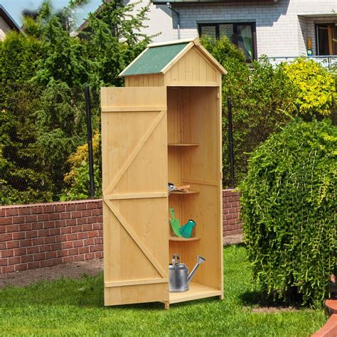 Garden Shed Catalog by Outsunny Garden Shed Storage With Door Lockable