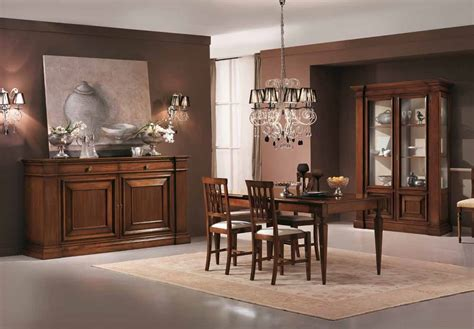 muebles de comedor clasicos madera encantador vitrinas