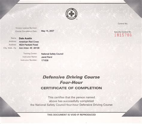 safe driving certificate template image collections