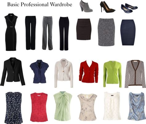 Professional Capsule Wardrobe by Quot Basic Professional Wardrobe Quot Fashion