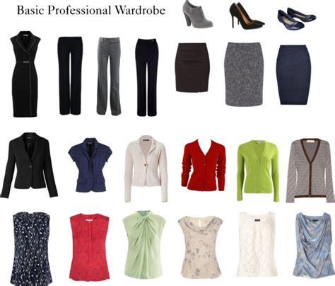 Basic Business Wardrobe by Basic Professional Wardrobe