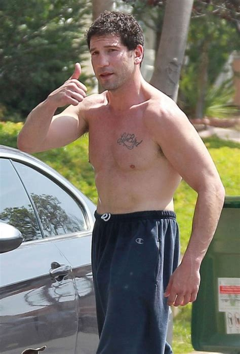 tattoo on shane s chest walking dead jon bernthal sighting with his dog in la male celeb news