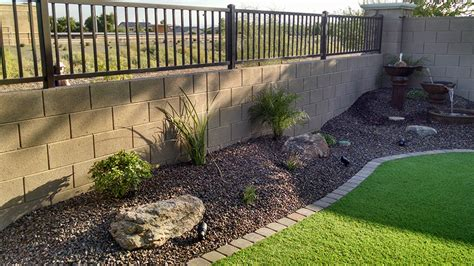 Small Backyard Landscaping Az Living Landscape Design How To Design Backyard Landscaping