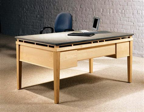 modern desk design modern wood desk plans modern wood desk design home design