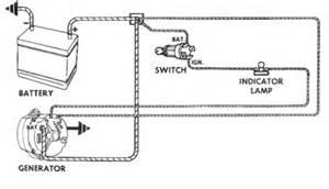 basic wiring diagram for delco remy alternator auto