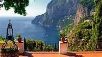 Capri Terrace View Sfondi Gratuiti Per Desktop 1920x1080 Full HD