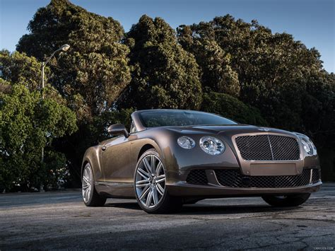 2014 Bentley Continental Gt Speed 2014 Bentley Continental Gt Speed Convertible Front Hd