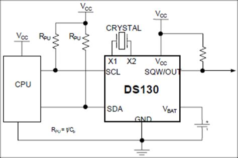 ds1307 pull up resistor value clock pull resistor 28 images design calculations for robust i2c communications edn msp430
