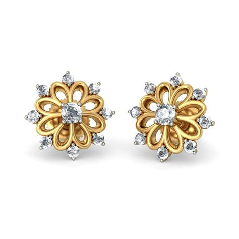 design earrings online 21 wonderful gold earrings for women designs playzoa com