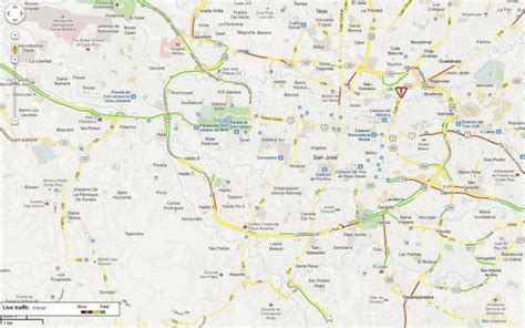 san jose costa rica neighborhoods map live construction closures traffic conditions for costa