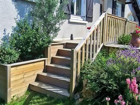 escaliers am 233 nagements d ext 233 rieur bois jardins