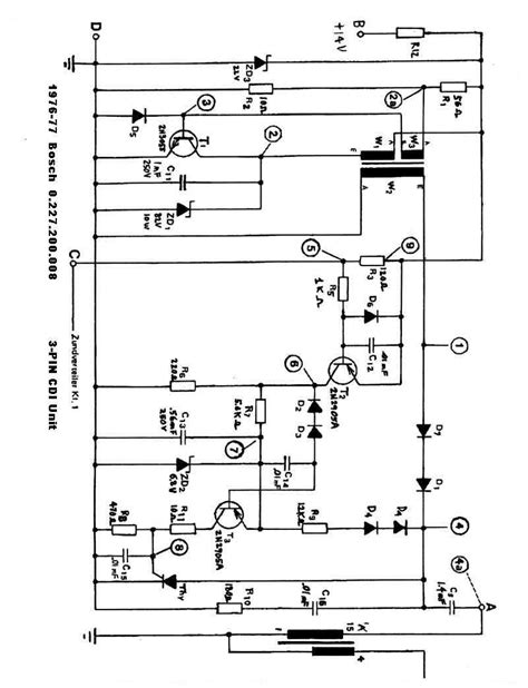 motorcycle cdi ignition wiring diagram motorcycle free