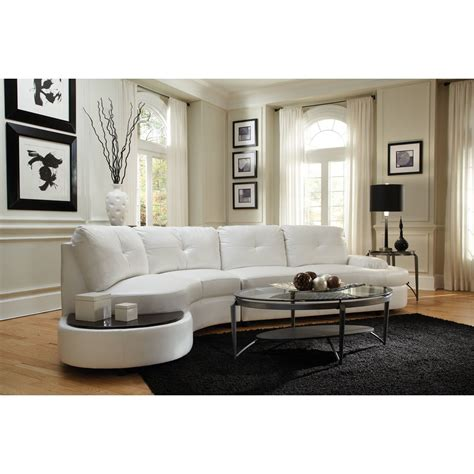 curved white sofa new traditional curved sofas furniture