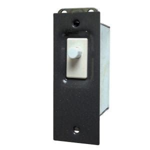 edwards signaling electric door light switch with gray