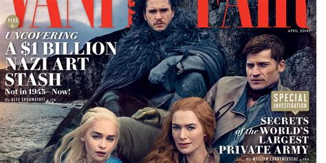Of Thrones Vanity Fair by Of Thrones Creator Reveals He Knows How The Books