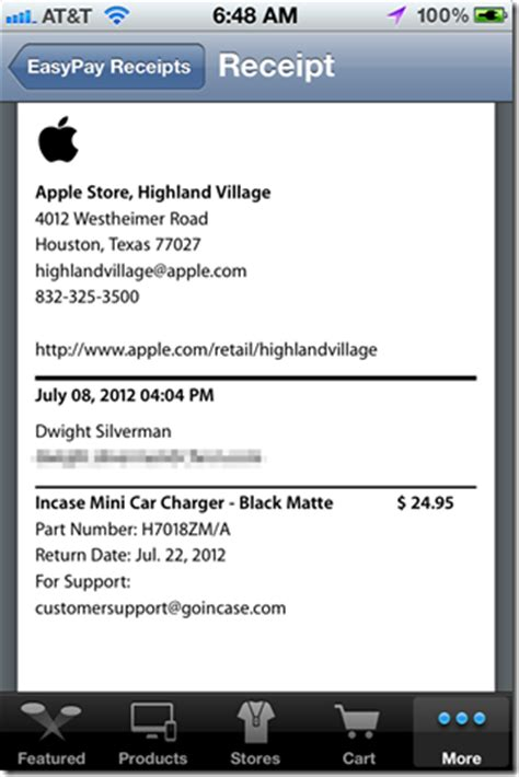 apple store receipt template apple iphone 5 apple store receipt
