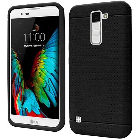 Silicon Casing Softcase Line Lg K10 for lg k10 premier lte rugged thick silicone grip soft skin cover ebay