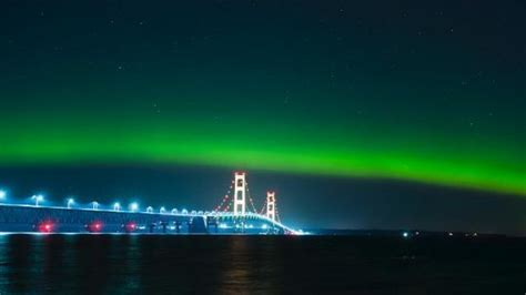 Northern Lights In Michigan by Northern Lights May Be Visible In Michigan Tonight Due To