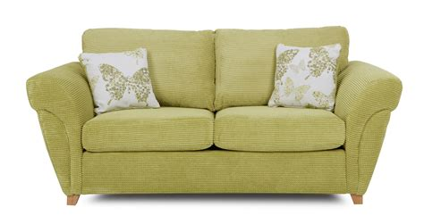 lime green 2 seater sofa dfs pennie lime green fabric 2 seater formal back sofa bed