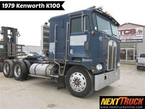 kenworth build sheet throwbackthursday check out this 1979 kenworth k100 view