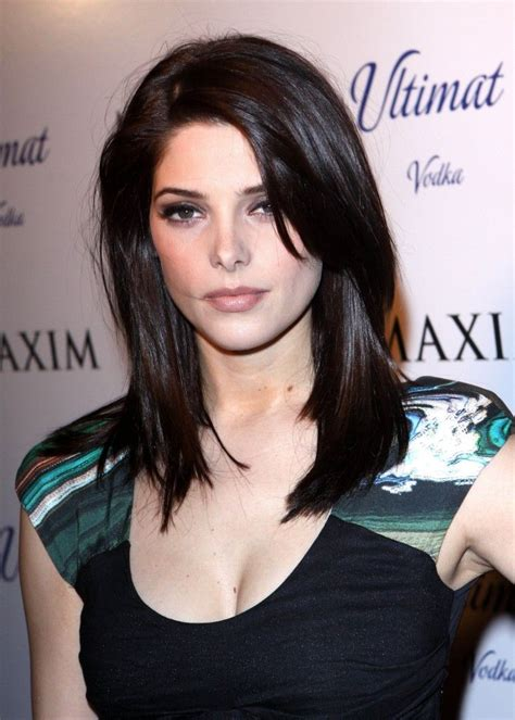 ashley greene medium length hairstyles 2014 straight hair if you are determined to go for sexy hairstyles for long