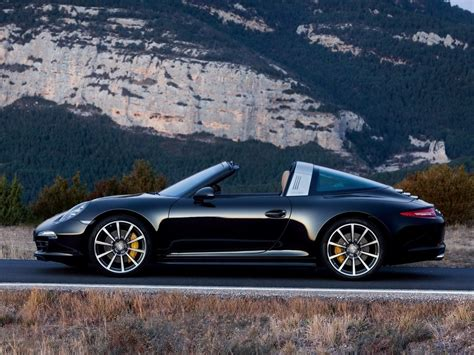 Porsche Targa Black by Black Porsche 911 Targa 4s Side Forcegt