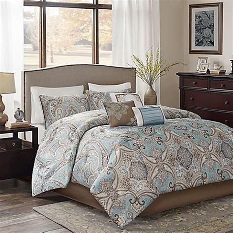 California King Comforter On Bed Buy Yvette 7 California King Comforter Set From Bed