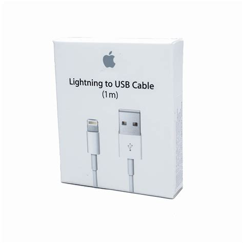 Kabel Iphone Lightning Cable 1m apple lightning to usb cable 1 meter price dice bg