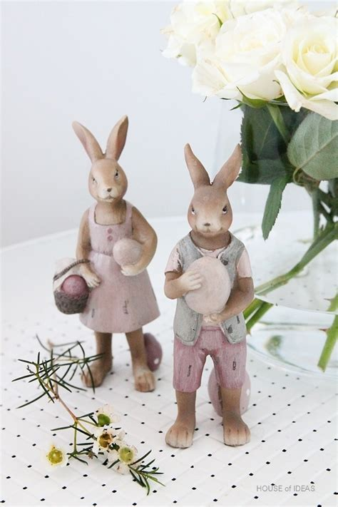 Tea Cups Decorations Easter Bunny Couple Clayre Amp Eef House Of Ideas Oriental