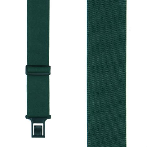 green perry belt clip suspenders 2 inch wide