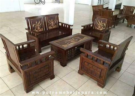 Kursi Tamu Jati Keranjang kursi tamu minimalis kayu jati putra mebel jepara