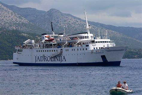 catamaran ferry croatia croatia coastal ferry from dubrovnik to rijeka