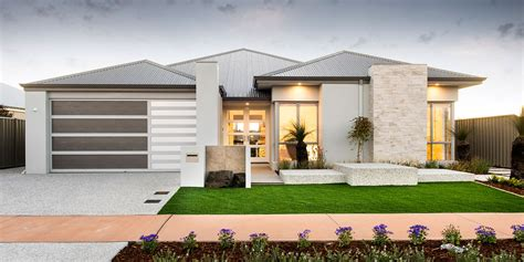 home patterns newtown single storey elevation western australia