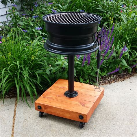 diy pit with grill diy tire grill no welding home design garden architecture magazine