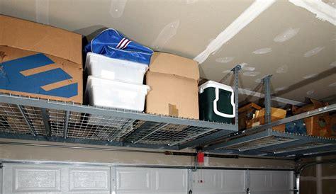 best garage storage diy overhead garage storage racks the better garages