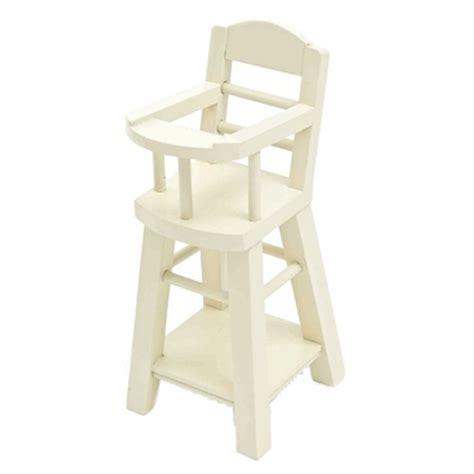 chaise haute bebe bois jouets gt poup 233 es et maisons 224 jouer gt chaise haute b 233 b 233 en