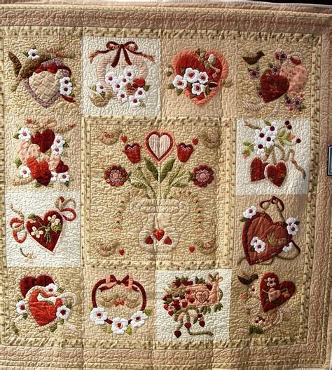 vintage valentine pattern 36 best vintage valentine quilt images on pinterest