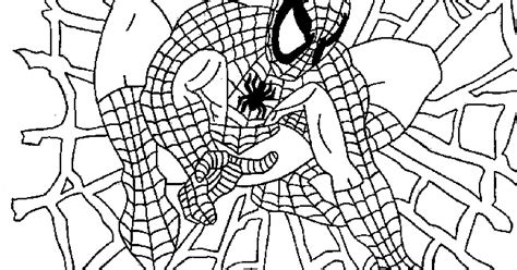 tutorial gambar spiderman spiderman gambar mewarna colouring picture