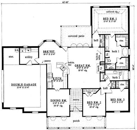 1700 To 1900 Square Foot House Plans House Plans 1700 To 1900 Square Feet