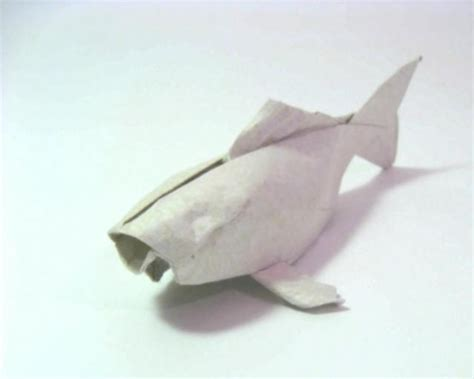 Origami Fish Koi - the of an origami koi on vimeo