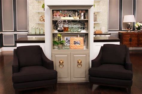 how to style a bookcase steven and chris diy bookshelf bar steven and chris indigo taupe and