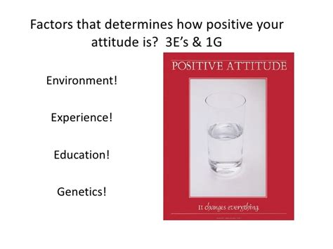 Growing Your Attitude 1 positive attitude proactive thinking