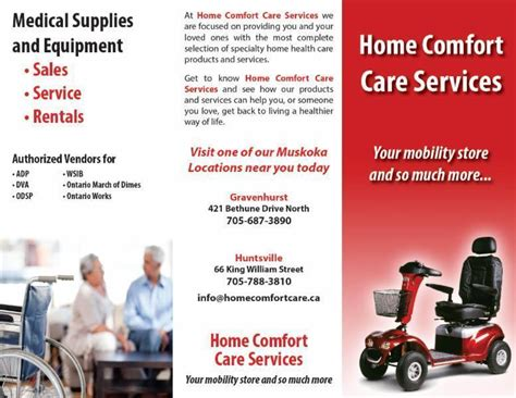 Care And Comfort Nursing by Home Comfort Care Services Opening Hours 421 Bethune