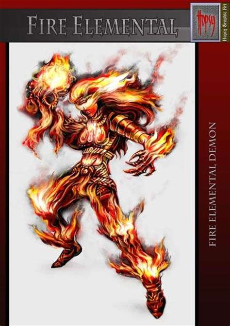 demons of wrath the fires of attack magick books image gallery elemental demons