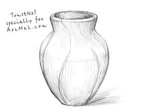 how to draw a vase step by step arcmel