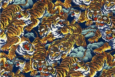 kenzo pattern video prints and patterns of the season 6 the flying tigers