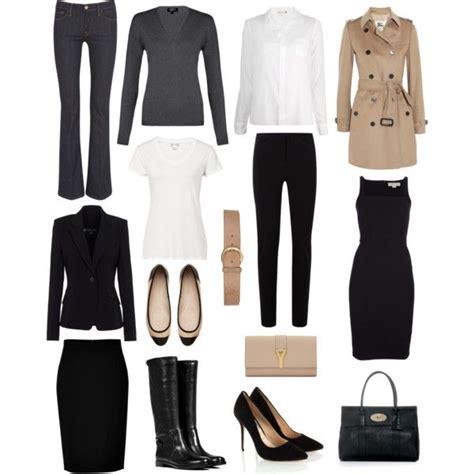 Basic Office Wardrobe by Sommaire Consultora De Imagen Tu Fondo De Armario
