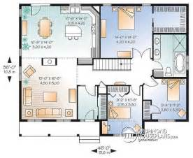 New Construction House Plans by House Plan W2185 V2 Detail From Drummondhouseplans