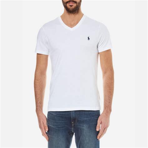 Polo Ralph V Neck T Shirt by Polo Ralph S Sleeve Custom Fit V Neck T
