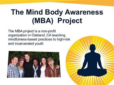 Non Profit With Mba by The Mind Awareness Project Presentation